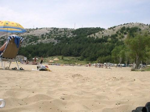 camping mit sandstrand in kroatien